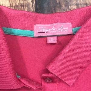 Tops - 🔥Masters Pink Golf Polo Magnolia Shirt Women's